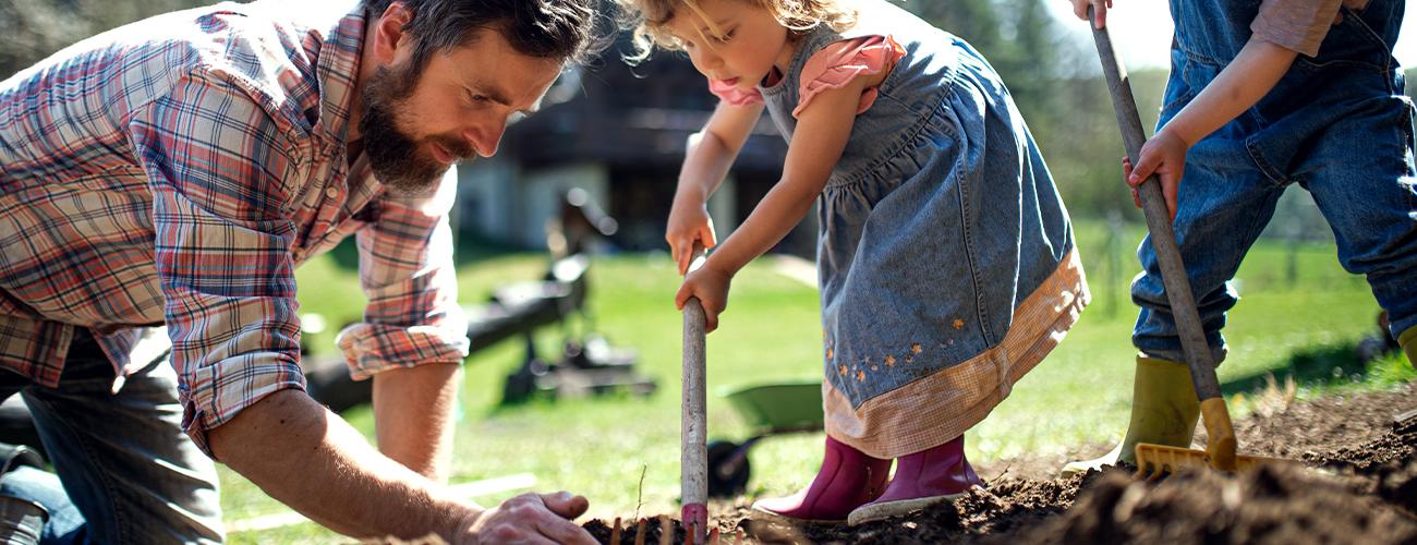 April: Jetzt geht's endlich los mit der Gartenarbeit
